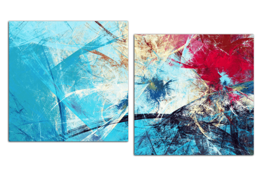 Модульная картина Всплеск красок